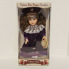 Collector's Choice Genuine Hand Painted Bisque Porcelain Doll, Limited Edition