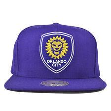 Orlando City SC SOLID SERIES Purple SNAPBACK Mitchell & Ness MLS Hat = OSFM