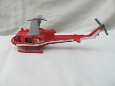 "Vintage A-Team Diecast Helicopter / 5"" in Length / Nice Condition"