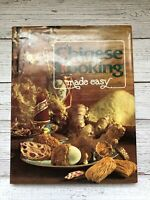 Vintage Chinese Cooking Made Easy Cookbook 1979 1970's Housewife Recipes China