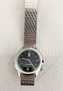 Vintage 1969 Bulova Accutron 218 Day/Date tuning fork Men's Watch - Serviced!