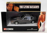 Corgi Appx 1/36 Scale 04801 Aston Martin Volante The Living Daylights 007 Bond