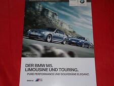 BMW M5 E60 Limousine + M5 E61 Touring Preisliste von 2009