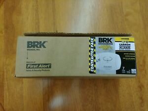 First Alert BRK Carbon Monoxide Battery Powered Alarm CO400B (6-Pack)