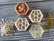 Honey & Oatmeal Homemade 100% Natural Soap Set of 4