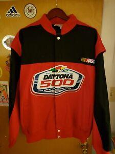 Vintage 4XL Daytona 500 Nascar Racing Jacket, New excellent condition