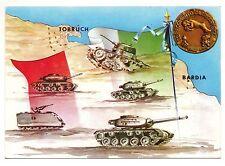 GUERRA  AFRICA  SETTENTRIONALE LIBIA BARDIA TOBRUCH 32 REGG CARRI ARIETE