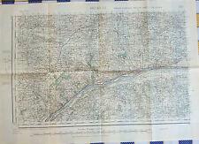 Ancienne carte de Bretagne année 40/41, Ancenis, Ondon, Ligné, Petit-Mars...