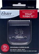 Genuine OSTER Diamox Blade Size 3 1/2 For 76 Titan Turbo 76918-696 ANTIMICROBIAL
