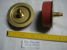 1 adaptateur 65 mm extensible pour vase, potiche, en caoutchouc et laiton