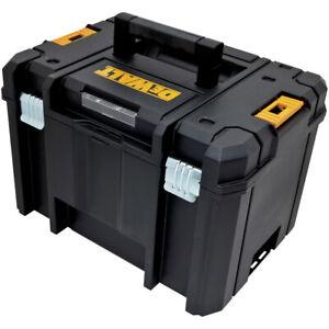 DEWALT DWST17806 TSTAK VI Deep Storage Box w/Flat Top - Black New
