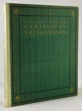 Canterbury Erzahlungen by Geoffrey  Chaucer Limited to 250 quarter bound vellum