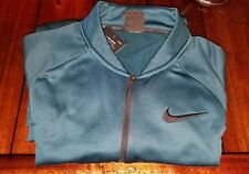 Nike Mens Therma Training Pullover Size Med # 800185 346 Midnight Turquoise