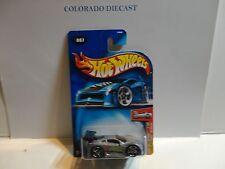 2004 Hot Wheels #7 Zamac Tooned Ferrari 360 Modena w/PR5 Spoke Wheels