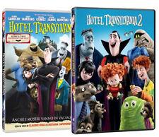 HOTEL TRANSILVANIA 1 e 2 COLLEZIONE 2 FILM (2 DVD) ANIMAZIONE DIGITALE SONY