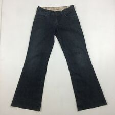 Silver Women's Size 27 Lauren Dark Wash Denim Flared Jeans B0