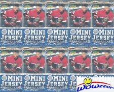 (10) 2006/07 Upper Deck Mini Jersey Hockey Factory Sealed HOBBY Pack-Mini Jersey
