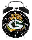 Green Bay Packers Football Alarm Desk Clock Home Decor F123 Nice Gift