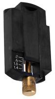 Lee Auto Disk Micrometer Adjustable Powder Charge Bar Brass/Polymer Black 90792