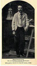 Edward Onslow Ford englischer Bildhauer verstorben Bilddokument von 1902