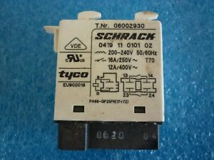 Genuine used Miele Relay 200-240V for PG8132 professional d/washer- 6002930