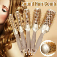 Roller Hair Comb Hair Brush Round Comb DIY Hairstyle Salon Hairdressing Fashion