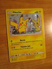 NM Pokemon PIKACHU Card BLACK STAR PROMO Set SM162 HOLO Sun Moon Blister Pack