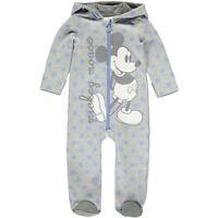 Disney Mickey Mouse Baby Jungen Strampler Onesie Overall 56 62 68 74 80 89 92