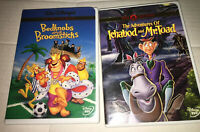 DISNEY: BEDKNOBS & BROOMSTICKS Adventures Of Ichabod And Mr. Toad