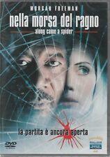 """MORGAN FREEDMAN """"NELLA MORSA DEL RAGNO"""" FILM DVD ORIG NUOVO SIGILLATO"""