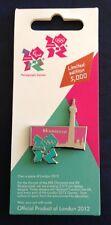 London 2012 Olympics Limited Edition Enamel Pin Badge - Monument