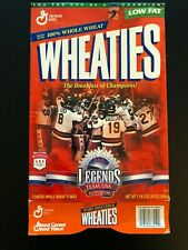 1998 Wheaties Hockey Box - Team USA - EX