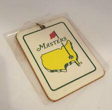 "MASTERS BAG TAG OF The 1995 Masters Players ""COLLECTORS"" BAG TAG (Rare)"