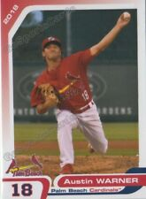 2018 Palm Beach Cardinals Austin Warner RC Rookie St Louis