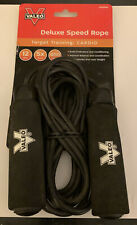 Deluxe Adjustable Speed Jump Rope To Improve Cardio skipping boxing exercise