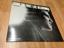 "ELVIS PRESLEY LP "" The First Live Recordings "" PASSPORT Canada 1983'"