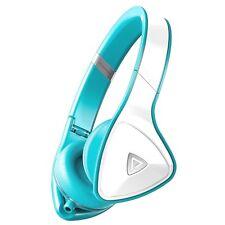 Monster DNA Headphones - Turquoise & White, On Ear, Noise Isolation, New Unboxed