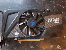 AMD SAPPHIRE RADEON HD 7770 OC EDITION GRAPHICS VIDEO CARD FOR DESKTOP PC HD7770