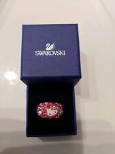 Women's Rare Limited Edition Swarovski Pink Fancy Ring Size 6.5
