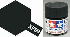 TAMIYA 81769 Acrylic Mini XF69 NATO Black 1/3 oz