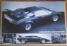 (PRL) LAMBORGHINI COUNTACH 5000 TOP CAR AUTO VINTAGE AFFICHE ART PRINT POSTER