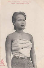 Cambodge Phnom-Penh Femme cambodgienne (Buste) Cambodia Indochine Dieulefils