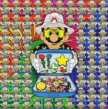 MARIO bag of tricks HST Hunter Thompson BLOTTER ART sheet tabs LSD Acid Art