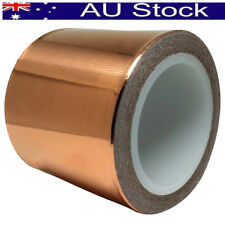 50mm * 20m Adhesive Copper Foil Tape EMI Shielding Guitar Slug and Snail Barrier