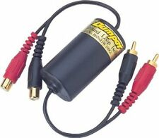 Ground Loop Isolator with Low Level Filter Car Radio Audio Hum Noise Preventer