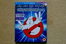 BLU-RAY    GHOSTBUSTERS 1 AND 2     BRAND NEW SEALED UK STOCK