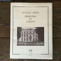 Hidden Treasures París Auteuil Passy Casas Y Jardines Eduardiano Siglo XIX . D.