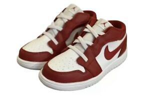 Nike Air Jordan 1 Low Alt TD Gym Red White Shoes CI3436-611 AJ Toddler Size- 5c