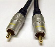 Hq Video Compuesto Rca Phono para el cable de SDC 1m