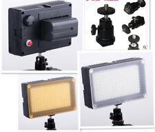 Eclairage 180 LED FT180 Lampe Torche Bicolore + Chargeur + Batterie pour Caméra